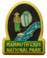 Mammoth cave national park patch embroidered Iron on Patch