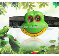 Frog headlamp for kids