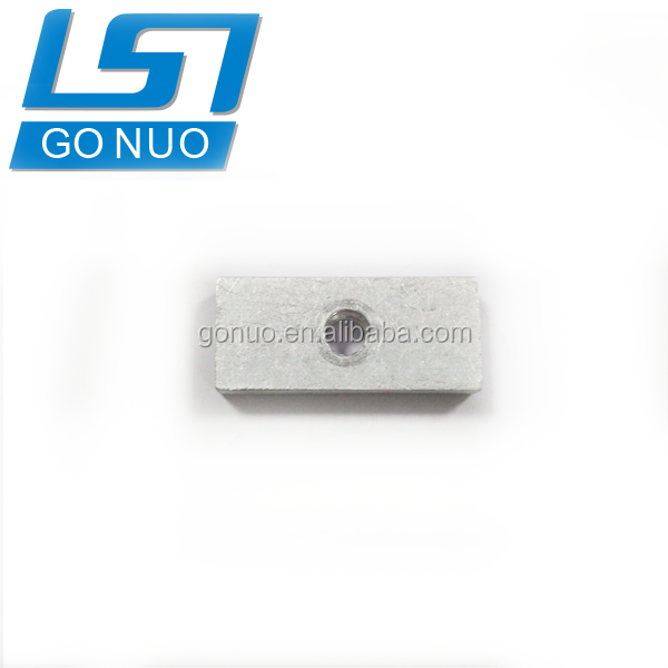 China suppliers hardware manufacture fastener wholesale Alibaba rectangle nut aluminum square nut