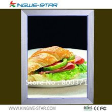 super slim high brightness A2,A3 led hotel led menu board kfc