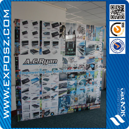 High quality 12 feet velcro exhibit booth