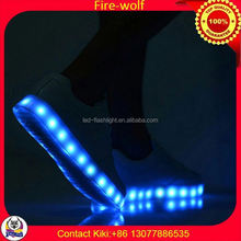 Making Led Shoes Factory led luminous shoes for dancer