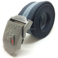 TT2432 Custom Fashion Polyester Canvas Webbing Belt Manufacturer 2016