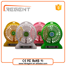 new 2016 retail buying mini rechargeable fan 12v dc motor