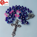 Chinese supplier professional wholesale religious choker bead rosary necklace