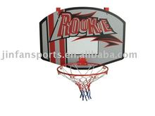 Wall mounted basketball stand set