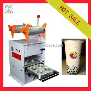bubble tea packaging machine