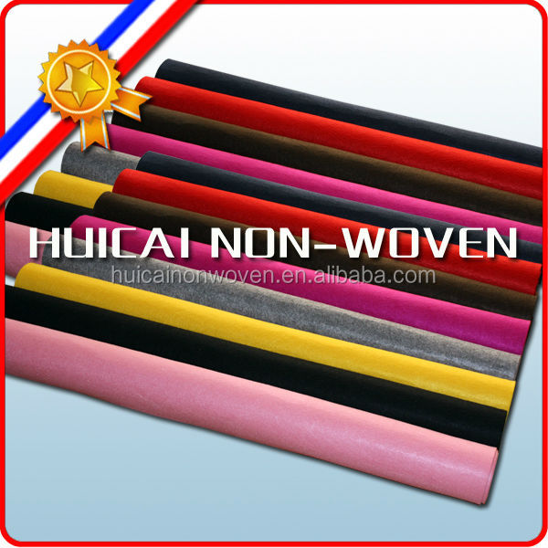 High quality needle punched polyester felt/non woven fabric