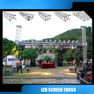 Aluminum lighting truss/lift truss systrm roof truss /backdrop led screen truss system