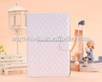 Latest design PU leather protective cover case with stand for iPad mini 2