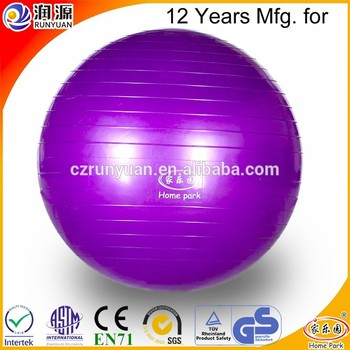 RUNYUAN 2018 Most Popular 100cm Diameter Large Inflatable Ball for Hospital-Yoga Manufacturer