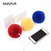 Genuine Rabbit Fur Ball Fashion Accessories