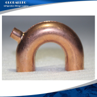 china supply red copper u type elbow/Pipe Fitting Copper U-bend/Copper Return Bend
