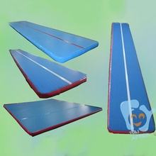 outdoor play pvc tarpaulin tumble track inflatable air mat for gymnastics