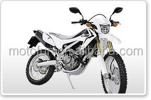 CRF250L-white NEW MOTORCYCLES