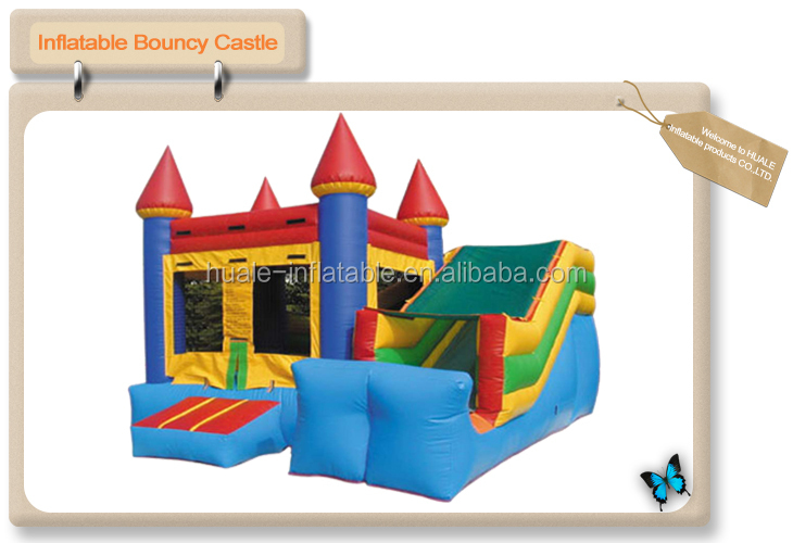 Newest inflatable combo inflatable game inflatable bouncer slide