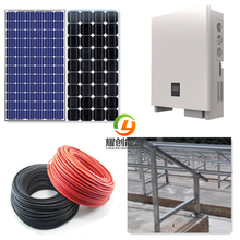 CE Rohs IEC TUV on grid solar power system /solar panel on Grid system