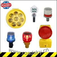 High Visible Road Warning Battery Operated Traffic Lights