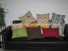 Canvas outdoor cushions