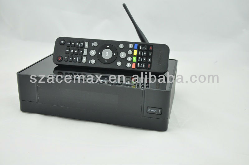 1186 3D Media Player with DVB-T Recorder,USB 3.0 3.5 inch HDD Android Smart TV,WIFI,PVR,HDMI 1.4