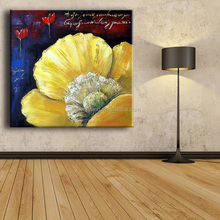 big flower bedroom decorating painting canvas artwork