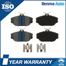 Car parts accessories back plate and brake pad of XU2Z-2V001-BGA /XU2Z-2V001-UA brake pad factory
