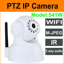 M-JPEG,wireless ip camera,built in Pan/Tilt