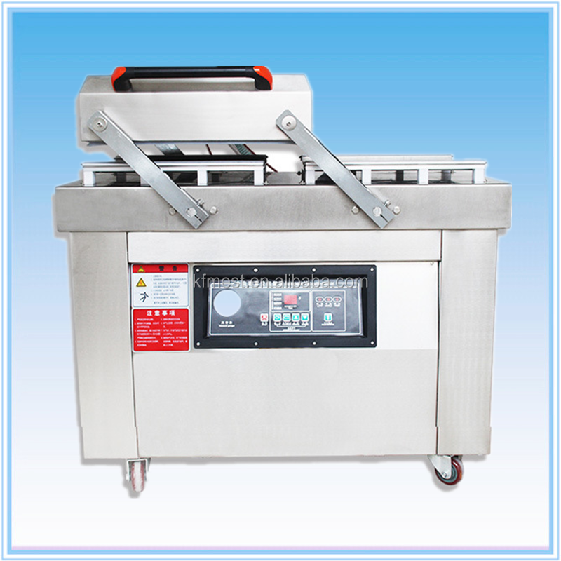 Automatic Commercial Double Chamber Vacuum Nitrogen Flushing Sealing Machine