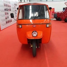 2018 quality gasoline modle Bajaj 200cc three wheel passenger tricycle