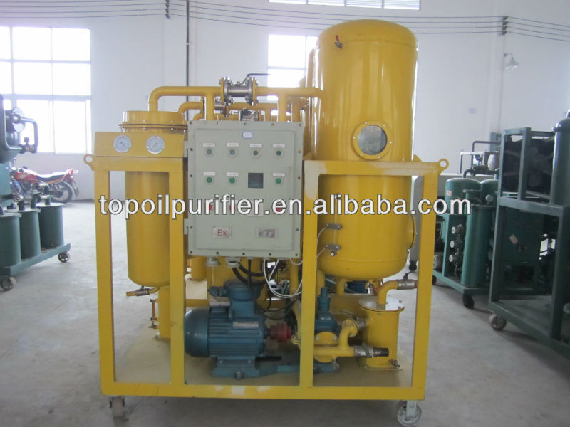turbine lubricating oil pocessing system, oil filter, waste oil renew