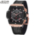 Men Watch JEDIR 2037 Top Luxury Casual Sport Waterproof Quartz-Watch Leather Watches Relogio Masculino 2017 Large Dial Clock