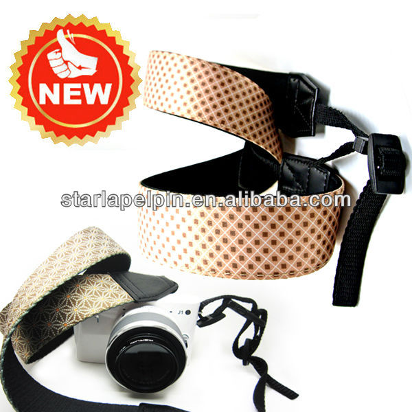 unique cute neoprene camera strap /camera neck strap for dslr