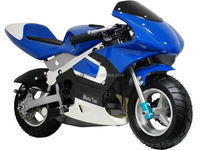 Black Flame color Electric Moto Bikes 250W Pocket Bike with CE EPA