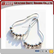 Manufacturer For Roller Shower Curtain Rings Hooks Stainless Steel made in China