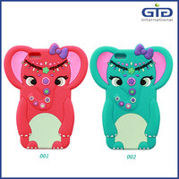 Famous Design Elephant Silicone Case for iPhone 6G