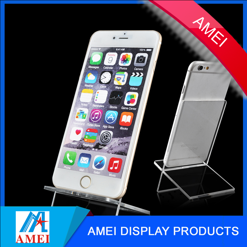 acrylic mobile phone display holder stand