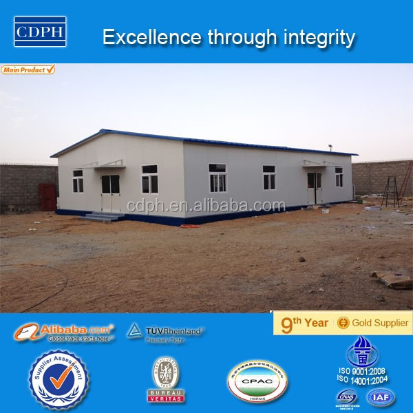 China alibaba galvanized steel structure Ghana, China supplier steel office building, Made in China prefab homes In Ghana