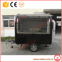 2017new design Popular Food Trailer/food cart showimage/food jias with lids