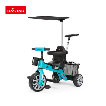 Rastar high quality mother and baby stroller bike for sale
