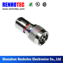 cheap cost high precise waterproof crimp N plug connector for radio equipment