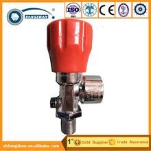 CE approved SCBA equipment parts, cylinder air cylinder valve for breathing apparatus