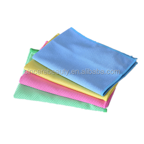 superfine fiber multifunctional cleaning cloth/Glass cleaning cloth