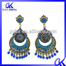 Wholesale surgical steel jewelry 2012 fashion clip on earrings
