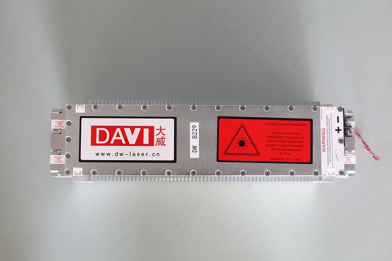 DAVI RF CO2 LASER 15W 30W 100W / METAL TUBE/ laser marking machine core component