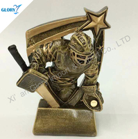 Hot Sale Action Resin Hockey Figures