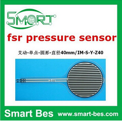 Free shipping by Singapore post 5pcs/lot Thin film pressure <strong>sensor</strong> 40 mm tactile weight measuring <strong>sensors</strong> 150 kg FSR,fsr <strong>sensor</strong>