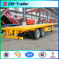Hot Selling Tri - axle Semi trailer Chassis with lock container pins for sale