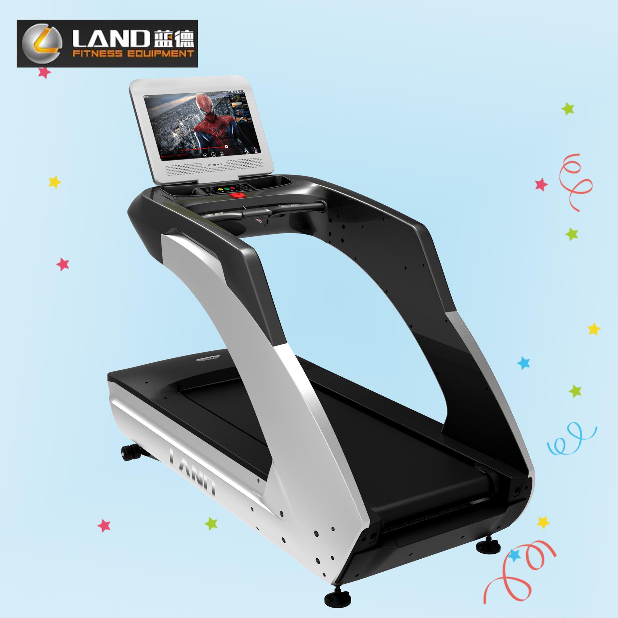 3HP Treadmill LAND FITNESS Cardio Equipment LCD Screen Treadmill