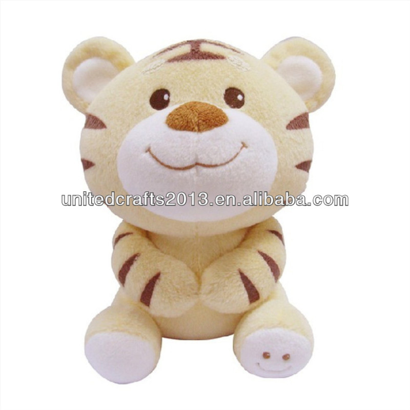wholesale top quality cheap custom plush stuffed toys baby tiger