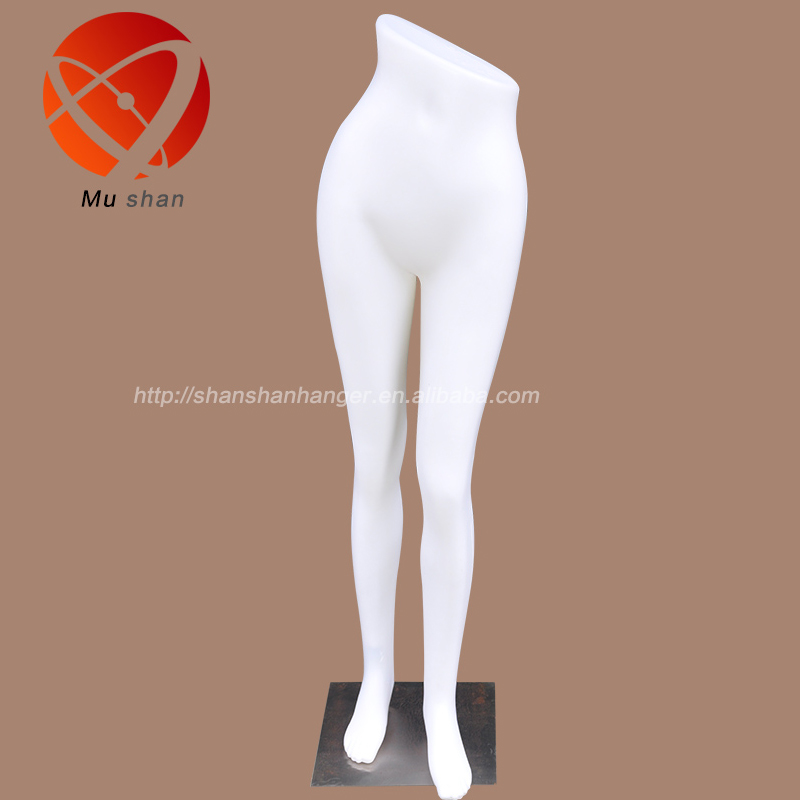 nude plastic fashion female mannequins half body with legs manikins model factory directly sale